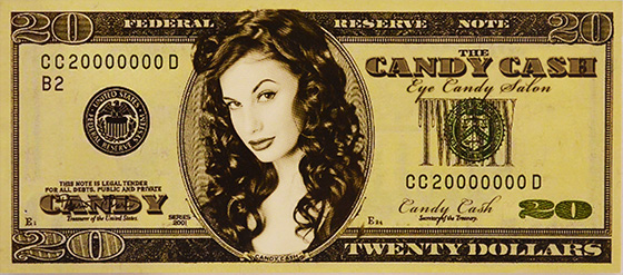 Eye Candy Salon - Candy Cash