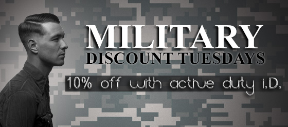 Eye Candy Salon & Blow Dry Bar - Military Tuesday's