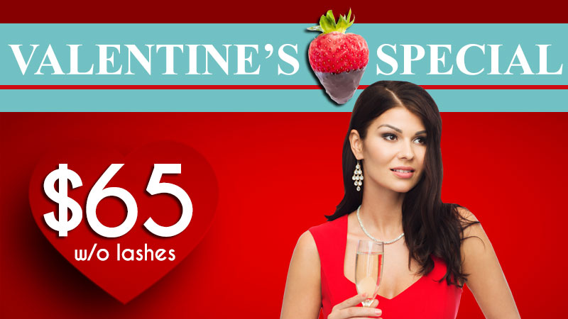 Colorado Springs Hair Makeup Valentine's Special